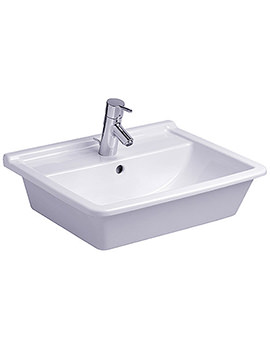 Starck 3 Vanity Countertop Basin with Overflow 560mm - 030256