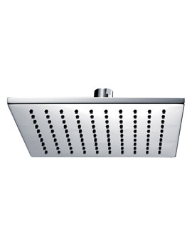 Deluxe Square Brass Shower Head 250mm - KI073A
