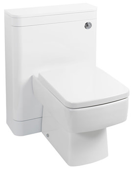 550mm Compact Back To Wall WC Unit White