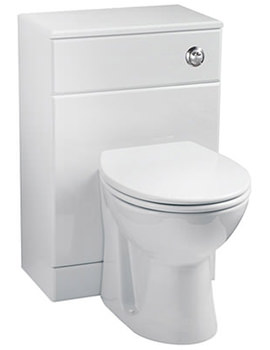 Related Balterley Gloss White WC Unit Including Concealed Cistern 500 x 330mm