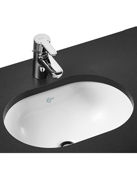 Ideal Standard Concept Oval 480mm Under Counter Basin - E501801