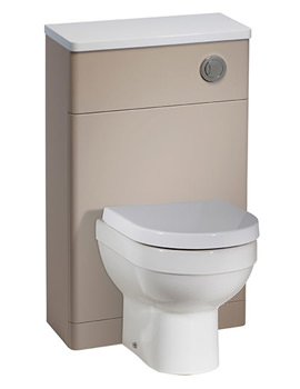 Desire 500mm Putty Finish Back To Wall WC Unit - DS5BTWPY