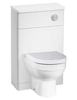 Desire 500mm White Back To Wall WC Unit - DS5BTWW