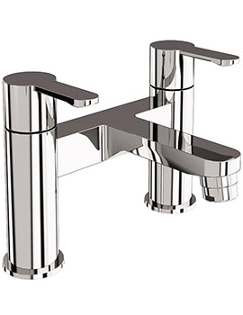 Crystal Bath Filler Tap Chrome - CTA6