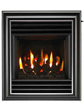 Valor Harmony Home-Flame Slide Control Inset Gas Fire Black - 0576141