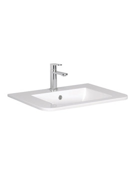 Celeste 600mm 1 Taphole Basin - CL0611SRW