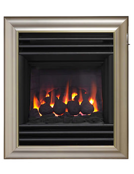 Valor Harmony Homeflame Slide Control Inset Gas Fire Champagne 0576161