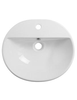 Zest Single Tap Hole Semi-Countertop Basin - Z3SCBAS