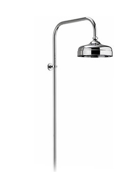 Exposed Fixed Height Shower Drencher Head Chrome - 581.01