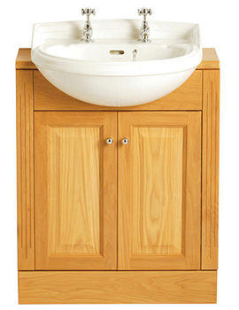 Heritage Dorchester 1 Taphole Medium Semi Recessed Basin - PDW361