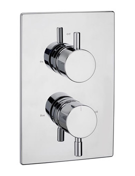 Milan Thermostatic Concealed 2 Way Diverter Valve - 63230
