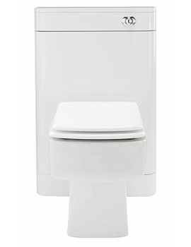 Related Lauren Parade White Gloss 550mm Back To Wall WC Unit - FPA007