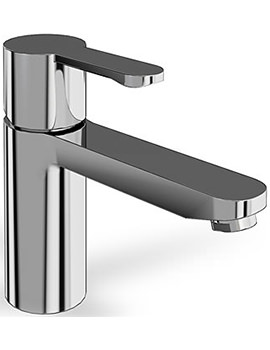 Crystal Single Lever Bath Filler Tap Chrome - CTA5
