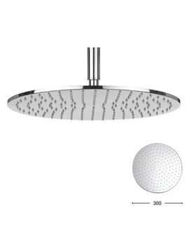 Contour 300mm Round Shower Head - FH618C+