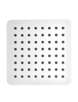 Slimline Stainless Steel Square Shower Head 350mm - KI074C