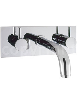 Related Crosswater Mike Lever Wall Mounted 3 Hole Bath Filler Tap
