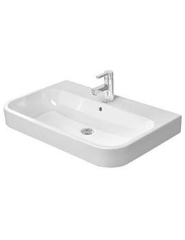 Related Duravit Happy D2 White 800 x 505mm Furniture Washbasin - 2318800000