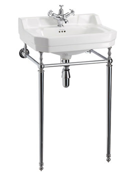 Edwardian 560mm Medium Basin And Wash Stand - B4 1TH - T22A