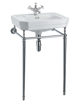 Victorian 560mm Medium Basin And Wash Stand - B2 1TH - T22A
