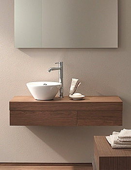 Related Fogo Console With Drawer For Semi Recessed Washbasin 1400mm FO8383