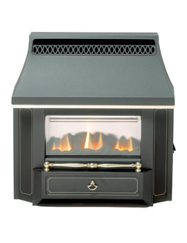 Valor Black Beauty Slimline LFE Outset Gas Fire Black - 0534101