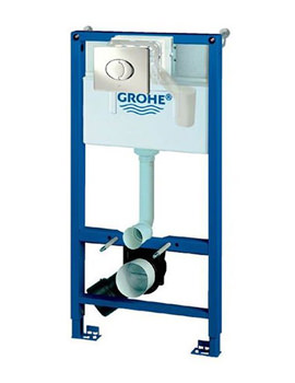 Related Grohe Rapid SL Skate Fresh 4 In 1 Set For WC With Cistern - 38890000