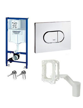 Related Grohe Rapid SL Wall Hung Arena Fresh 4 In 1 Frame Pack For WC 38944000