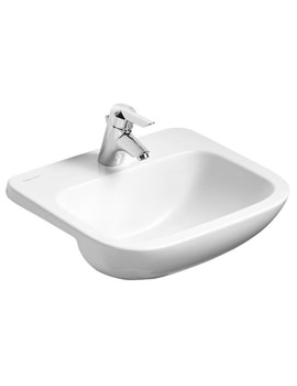 Profile 1 Taphole Semi Countertop Basin - S249301