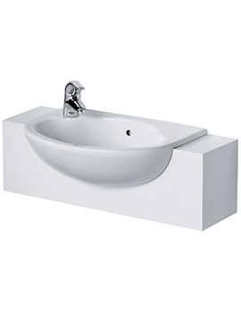 Related Ideal Standard Space 550mm Semi-Countertop 1 Taphole Basin