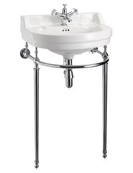 Edwardian Round 560mm Basin And Wash Stand