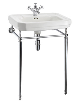 Victorian 610mm Large Basin And Wash Stand - B3 1TH - T23A