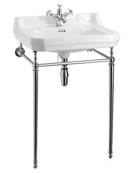 Edwardian 610mm Large Basin And Wash Stand - B5 1TH - T23A