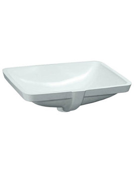 Pro A Built-in Washbasin 595 x 430mm Without Tap Ledge
