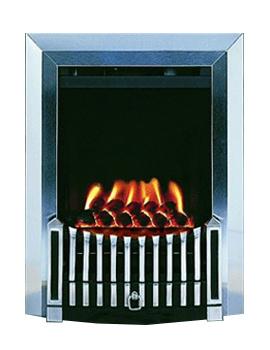 Flavel Orchestra Balanced Flue Gas Fire No Chimney Silver - FBFN98G