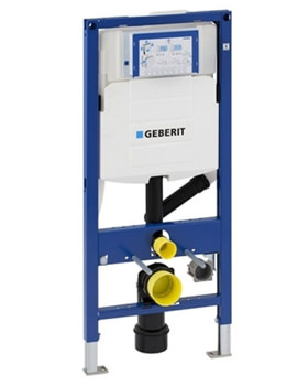 Related Geberit Duofix WC Frame With UP320 Cistern And Odour Extraction Connection