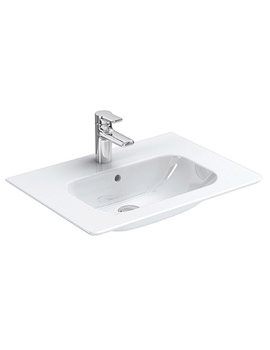 SoftMood 64cm Vanity Basin White - T055701