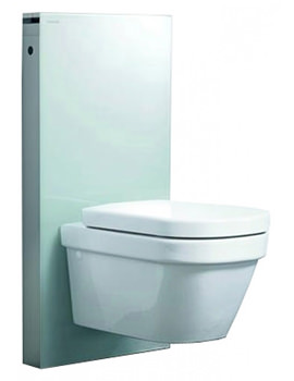 Related Geberit Mint Monolith For Wall Hung WC Mint Glass - 131.021.SK.1
