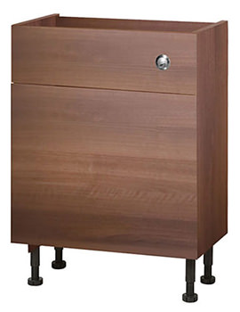 Related Balterley Compact Walnut 600mm Cistern Base Cabinet With Legs