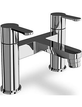 Crystal Chrome Bath Filler Tap - CTA6