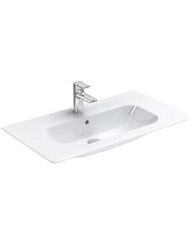 Ideal Standard SoftMood 1040mm Vanity Basin White - T055901