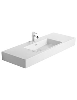 Vero 1250 x 490mm 1 Tap Hole Furniture Basin - 0329120000