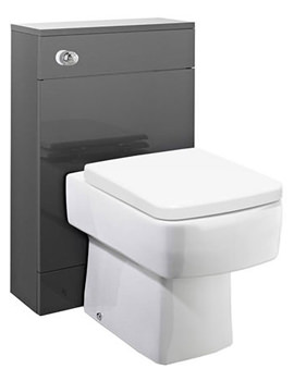 Memoir Grey 500mm Back To Wall WC Unit - FME010