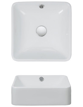 Related Bauhaus Sevillas 400mm Countertop Basin - CT4008SCW