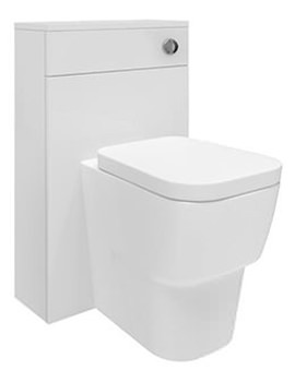 Related Hudson Reed Memoir White 500mm Back To Wall WC Unit - FME011