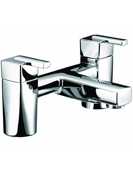 Qube Bath Filler Mixer Tap Chrome - QU BF C