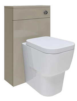 Related Hudson Reed Memoir Cashmere 500mm Back To Wall WC Unit - FME020