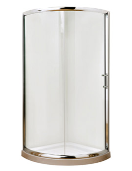 Related Lauren Pacific Single Entry Quadrant Enclosure And Tray 860 x 860mm