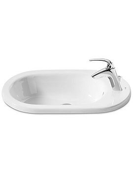 Meridian-N In Counter Top Basin 600mm Wide - 32724E000
