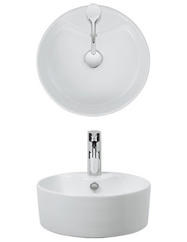 Vienna 390mm Countertop Basin - CT0040SCW