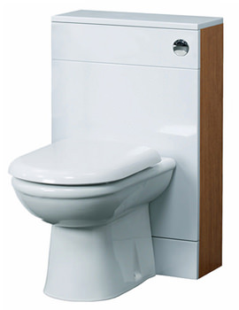 Aqva Tuscon Back to Wall WC Unit 500mm Wide - VTYC200, VTY001